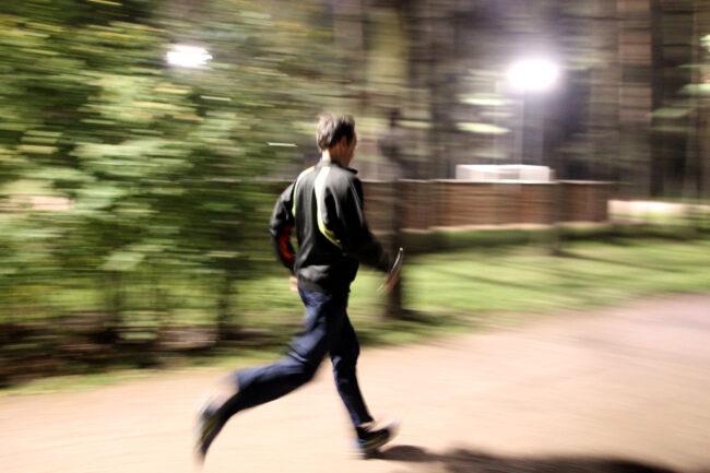 суточный забег в парке Сосновка, эстафета, бег, лёгкая атлетика, ночной бег