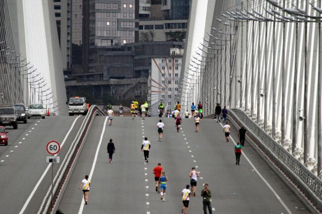 марафон Galaxy Marathon, Владивосток, лёгкая атлетика, спорт, бег, Золотой мост