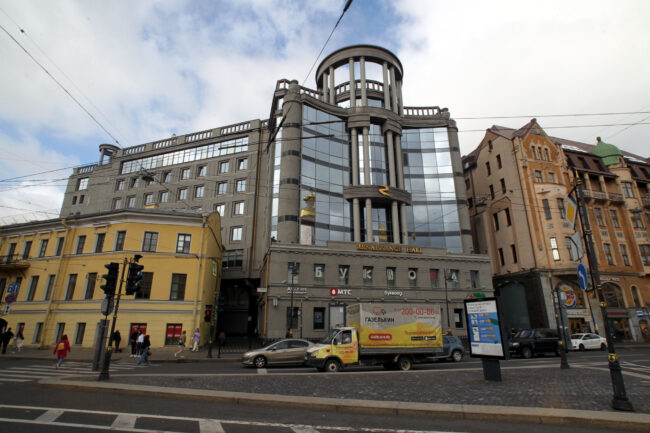 Renaissance Hall, Regent Hall, Владимирская площадь