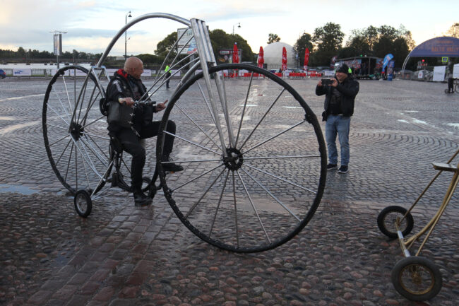 мотофестиваль Baltic Rally, велосипед