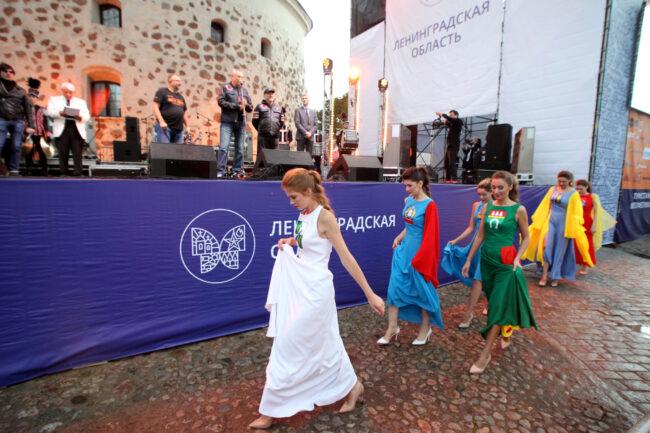 мотофестиваль Baltic Rally, конкурс красоты, девушки, смотр