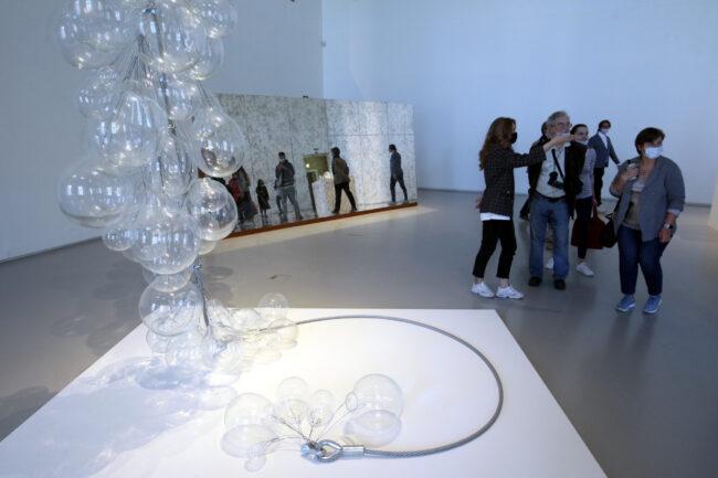 выставка Glasstress, художественное стекло, современное искусство, Эрмитаж, Главный штаб
