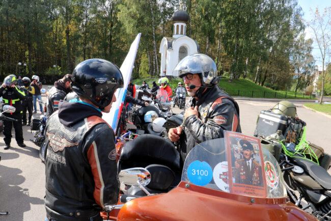 мотофестиваль Baltic Rally, мотоциклисты, Игорь Щербаков