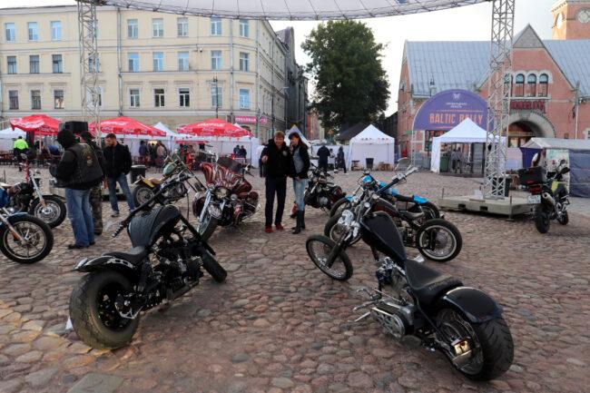 мотофестиваль Baltic Rally, шоу мотоциклов