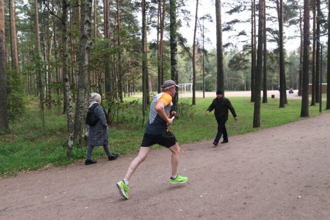 суточный забег в парке Сосновка, эстафета, бег, лёгкая атлетика