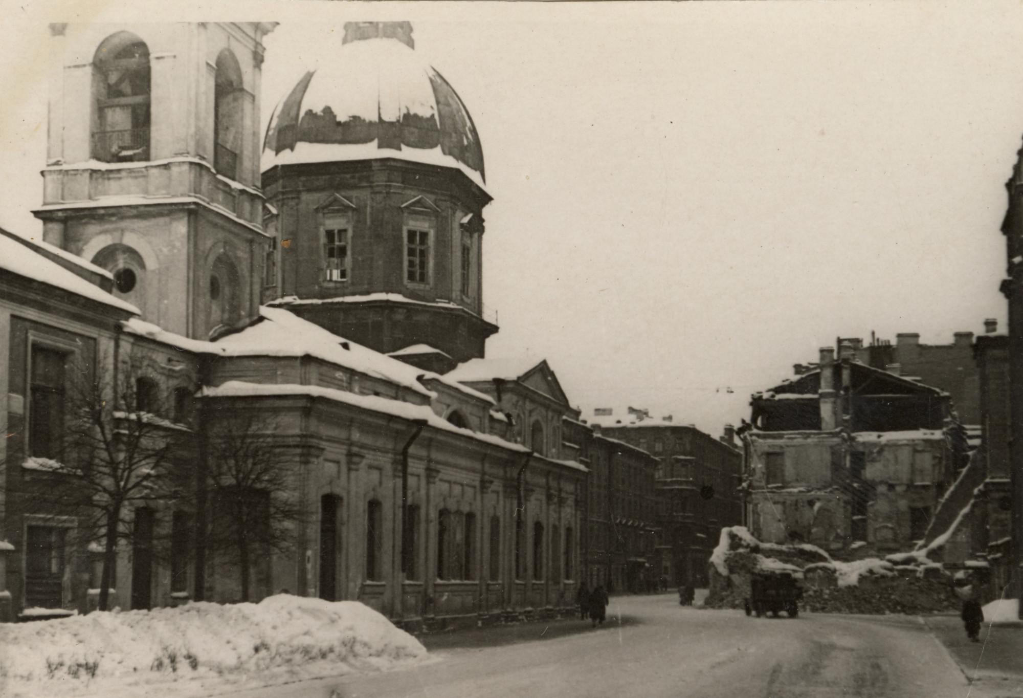 Ленинград, улица Пестеля, блокада, Великая Отечественная война