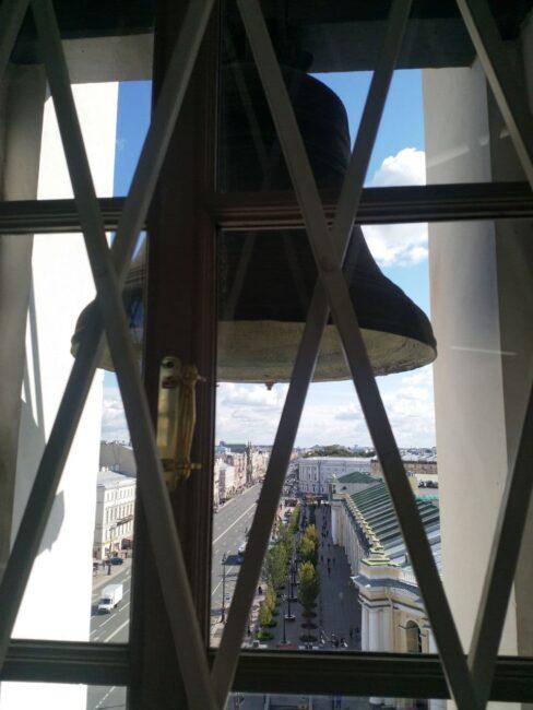 Думская башня, башня городской думы, колокол