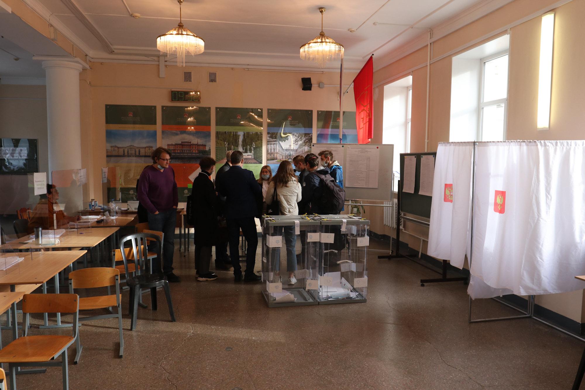 выборы, УИК 2183