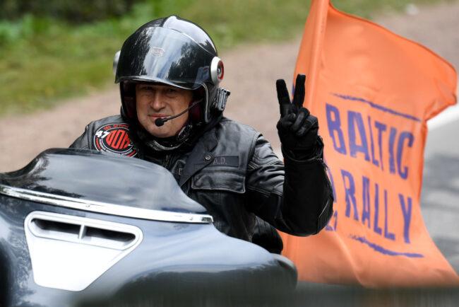 мотофестиваль Baltic Rally, мотоциклисты, Александр Дрозденко