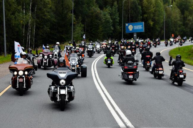 мотофестиваль Baltic Rally, мотоциклисты, мотопробег, байкеры