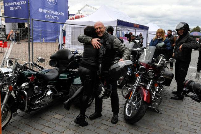 мотофестиваль Baltic Rally, мотоциклисты, байкеры