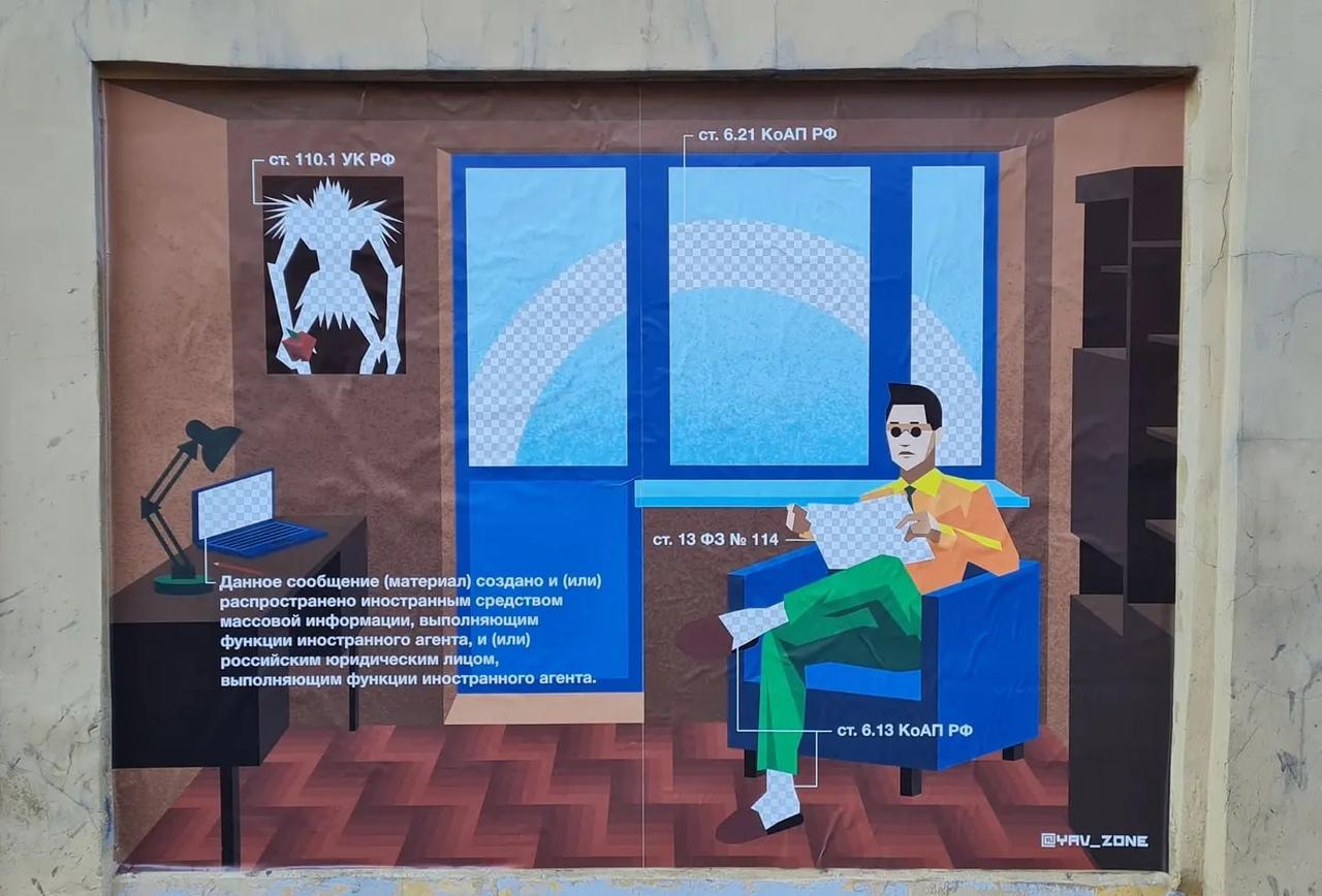 арт-группа Явь, антиутопия, граффити