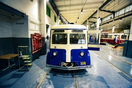 троллейбус ЯТБ-2, ретротранспорт