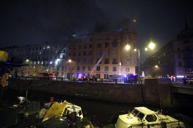 пожар в доме Чубакова